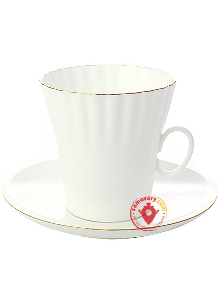 Купить Кофейная пара форма Одуванчик рисунок Золотой ...